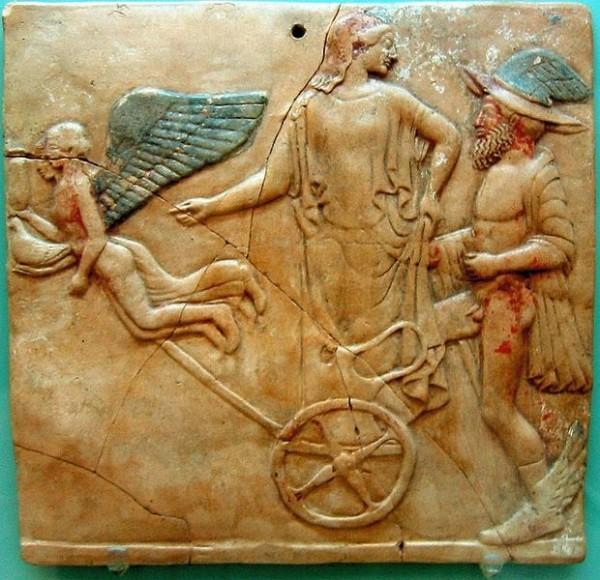 Eros, Ermes e Afrodite