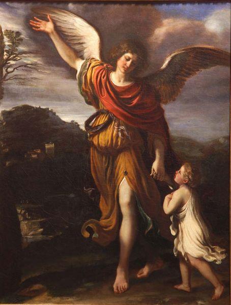 Giovanni Francesco Barbieri, detto il Guercino L'Angelo custode