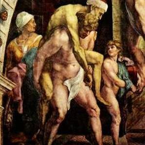 Gian Lorenzo Bernini – Enea, Anchise e Ascanio in fuga da Troia (Roma, Galleria Borghese, 1618-1619)