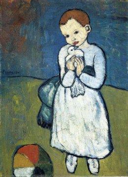 Picasso, Bambina con bambola, 1901