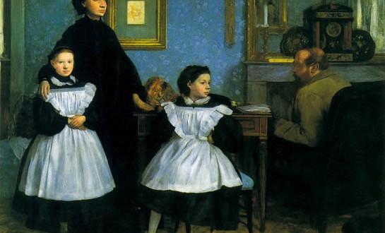 Degas, La famiglia Belelli (approfondimenti in http://www.stilearte.it/degas-affari-di-famiglia/#)