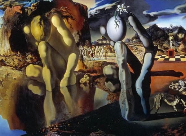 Metamorfosis de Narciso 1937, Salvador Dalí