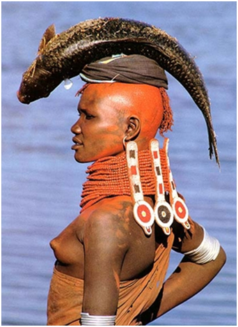 Sposa Turkana, Kenia