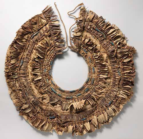 collar from Tutankhamun's