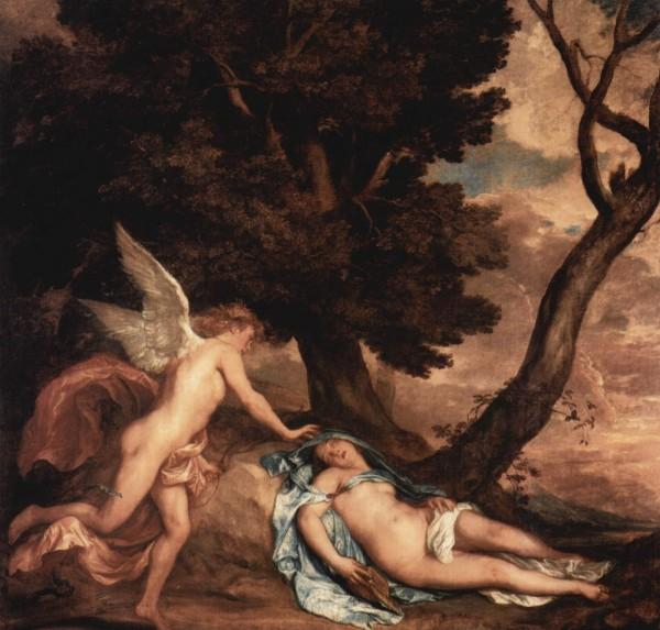 Van Dyck  Amore e Psiche 1638-1640