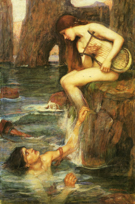 Waterhouse, The Siren 1900