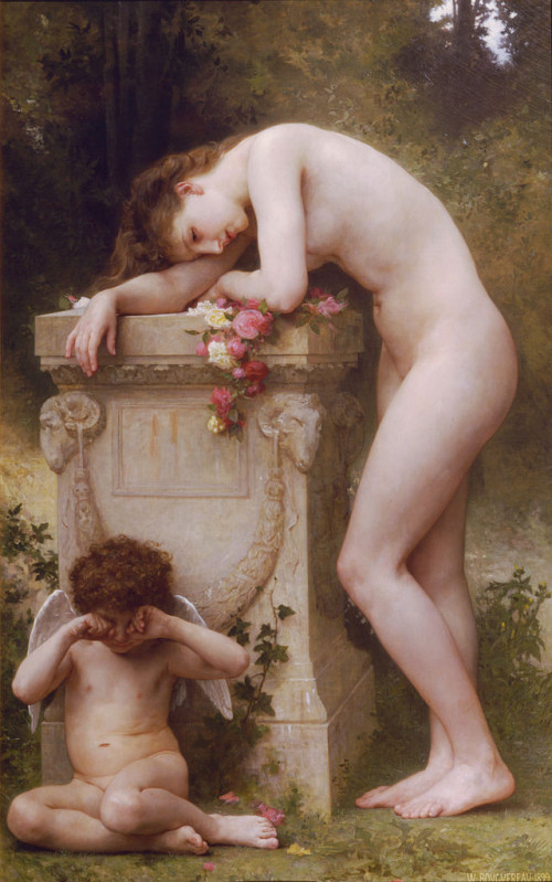 William Adolphe Bouguereau(1825-1905)_Elegy_(1899)