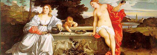 Tiziano, Amor sacro e amor profanto, 1514