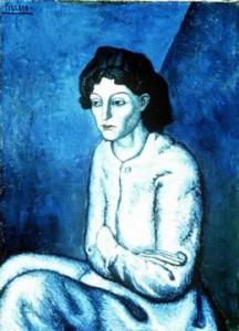 Picasso, periodo blu