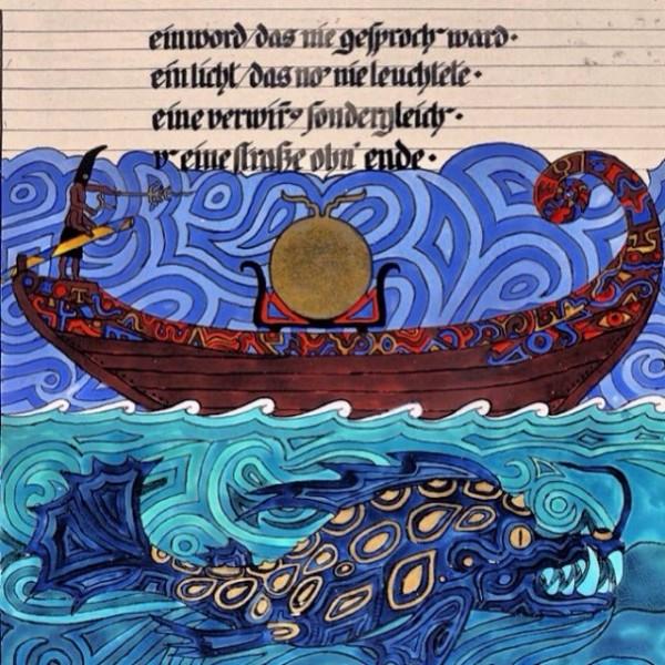 Illustrazione di Jung, dal suo LIBRO ROSSO