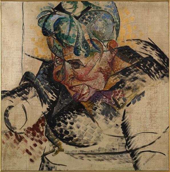Umberto Boccioni, Studio di testa – La madre, 1912