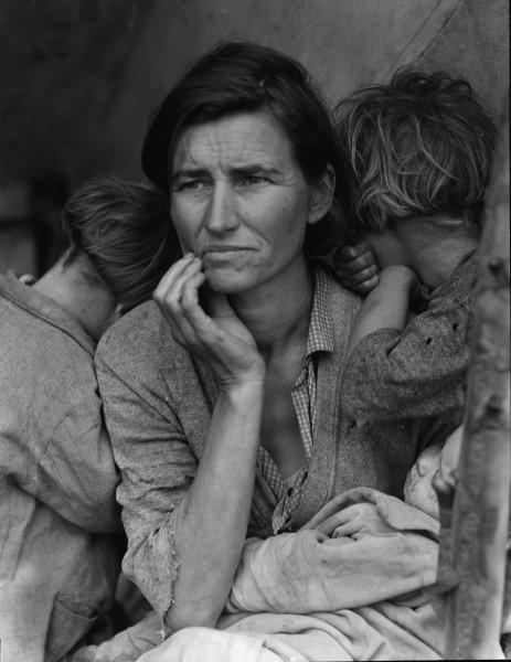 Dorothea Lange Migrant Mother [Madre migrante], 1936