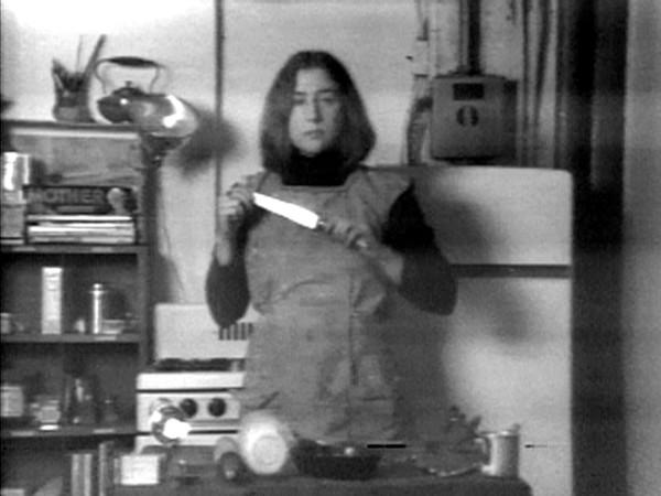Martha Rosler Semiotics of the Kitchen [Semiotica della cucina], 1975