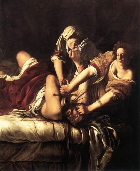 Giuditta e Oloferne - Galleria degli Uffizi - Firenze