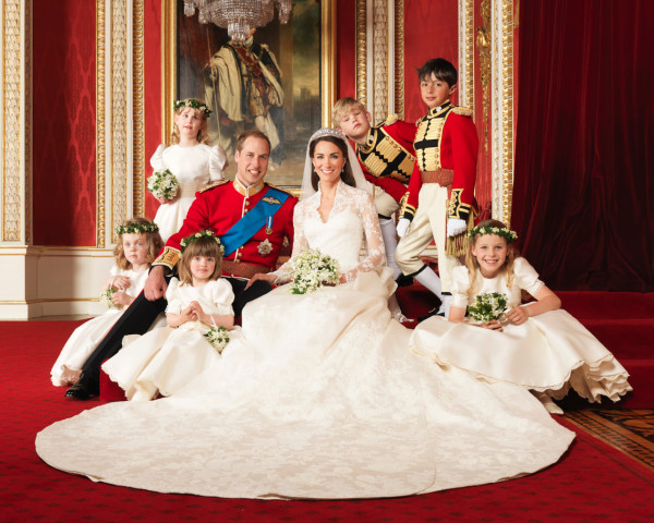 The Royal Wedding at Buckingham Palace on 29th April 2011