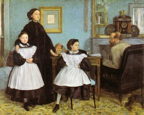Edgar_Degas_-_La_famille_Bellelli 1858 - 1869