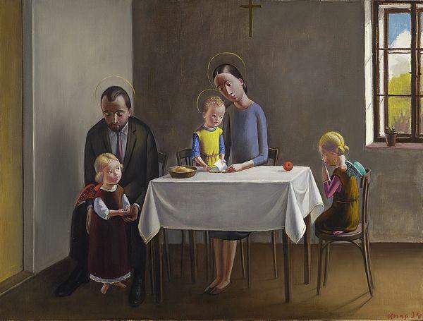 Knap Jan, La Sacra Famiglia (1994)
