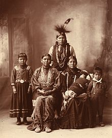 Photo-of-Bilangan-and-Itut-with-three-of-their-five-children-August-1972-by-John-Nance-with