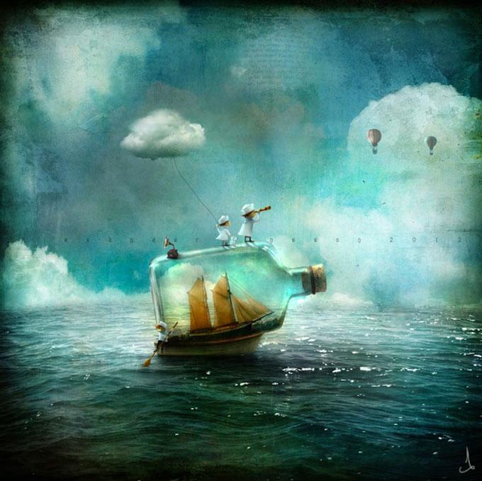surrealistische-digitale-illustraties-van-alexander-jansson