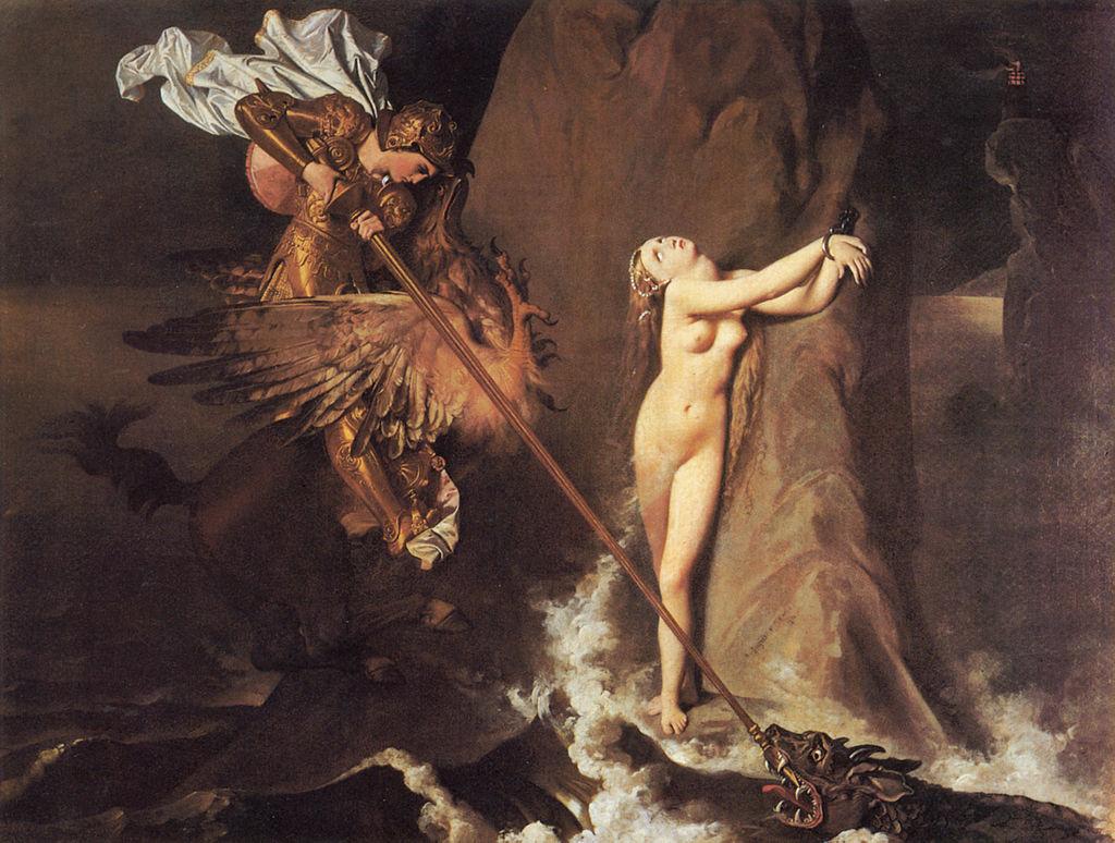 Jean Auguste Dominique Ingres, 1819, Parigi, Musée du Louvre.